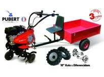 """Akční set PUBERT VARIO 55P C3 + kola s diferenciálem 10"""" + vozík"""