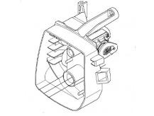 Držák vzduchového filtru